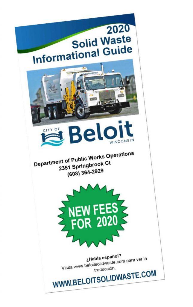 Beloit Christmas 2020 Calendar   City of Beloit Public Works   Solid Waste